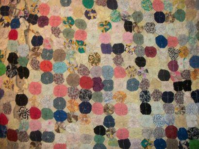 Couverture en patchwork, Etats-Unis d'Amérique,...