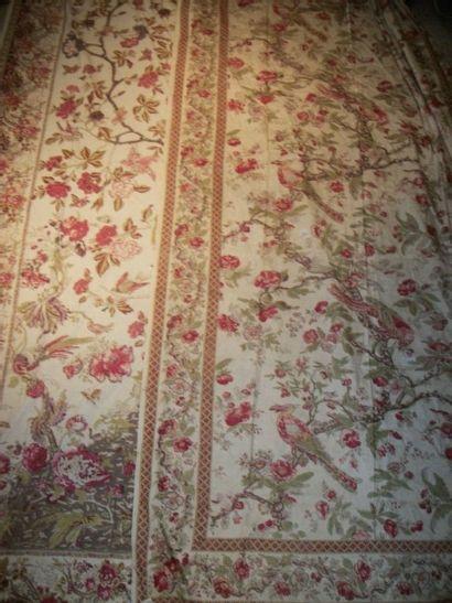 Deux rideaux pouvant former une paire, Alsace,...