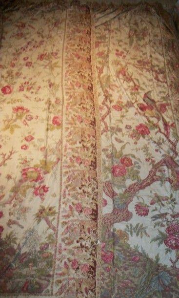 Deux tentures pouvant former une paire, Alsace,...