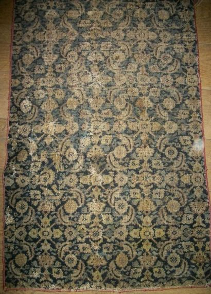 Fragment de tapis, Perse, XVIIIème siècle...