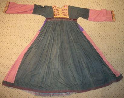 Robe, Turkménistan, XIXème siècle, toile...
