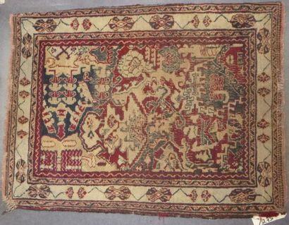 Paire de petits tapis, Nord Ouest de la Perse,...