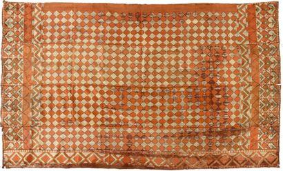 Tenture Pulkari, Pakistan, XIXème siècle,...