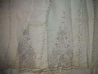 Voile de coton, Inde, Lucknow, vers 1800,...