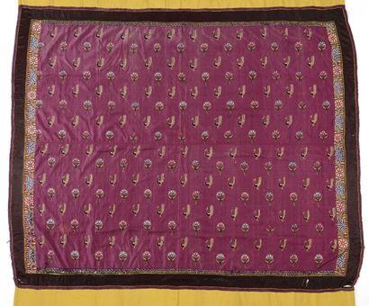 Tenture, Inde, Kutch, début XXème siècle,...