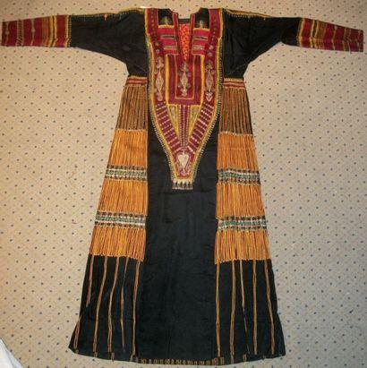 Robe de mariage bédouine, Yémen ou Arabie...