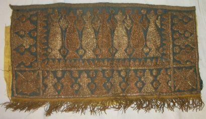 Panneau, Turquie Ottomane, XIXème siècle,...