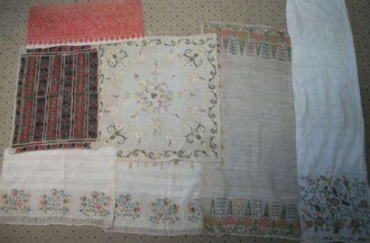 Réunion de serviettes rituelles, Turquie,...