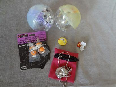 SNOOPY - lot de 6 objets : boucles d'oreille,...
