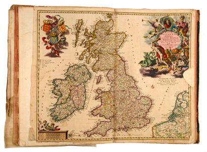 [ATLAS]. HOMANN, VISSCHER, DE WIT… [Atlas]. S.l.n.d. [Amsterdam, Nuremberg…, 1683-1789]....