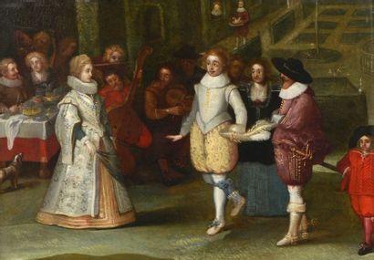 Ecole flamande de la première moitié du XVIIe...
