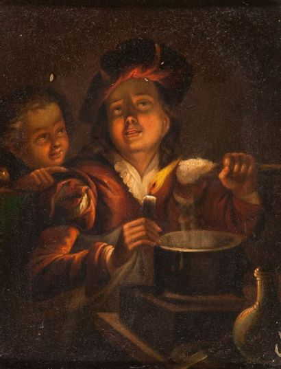GRESLY Gaspard (Ecole de) (1712 – 1756)