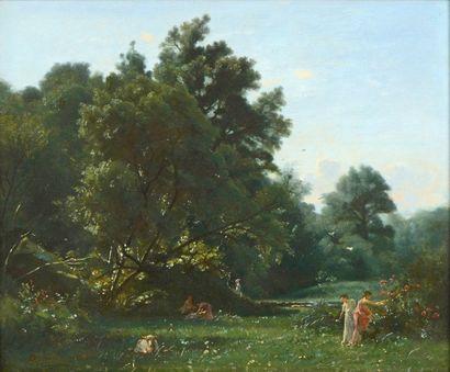 FRANCAIS François Louis (1814-1897)