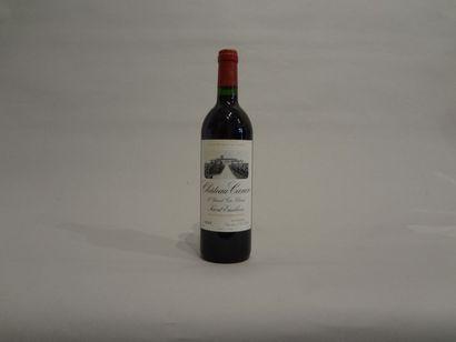 3 Bouteilles - Château Canon, 1994, 1er GCC de Saint Emilion (1 étiquette en mauvais...