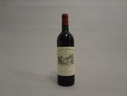 6 Bouteilles - Château Carbonnieux rouge,...