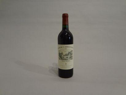 6 Bouteilles - Château Carbonnieux rouge, 1998, GCC de Grave, Pessac-Léognan