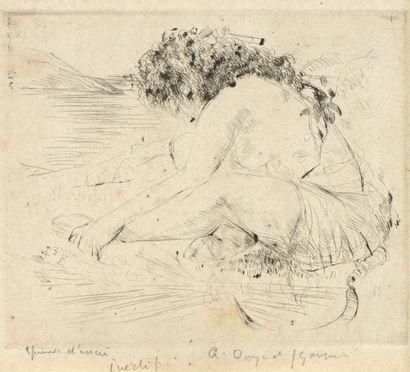 André Albert Marie DUNOYER DE SEGONZAC (1884-1974)...