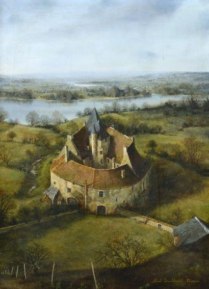 Albert DRACHKOVICH-THOMAS (né en 1928)  Château...