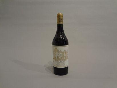 2 Bouteilles - Château Haut Brion rouge, 1993, 1er GCC de Graves (2 étiquettes en...