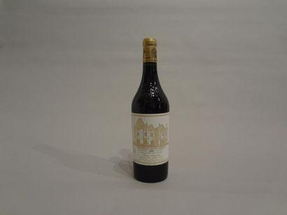 2 Bouteilles - Château Haut Brion rouge, 1993, 1er GCC de Graves (1 étiquette en...
