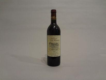 Lot de 10 Bouteilles - Château Jean Voisin, 1995 (3), 1998 (3) et 2000 (4), GC de...