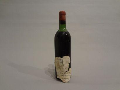 1 Bouteille - Château Latour, 1959, 1er GCC de Pauillac (étiquette décollée, niveau...
