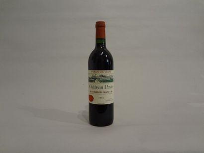 12 Bouteilles - Château Pavie, 1993, 1er GCC A de Saint Emilion (4 étiquettes en...