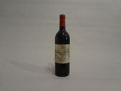 8 Bouteilles - Château Potensac, 1996, Médoc (8 étiquettes en mauvais état)