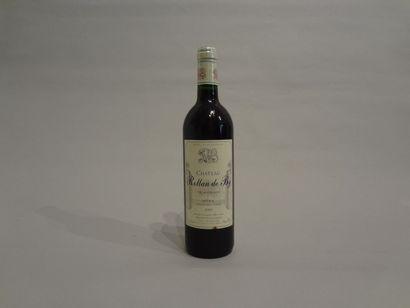 6 Bouteilles - Château Rollan de By, 2001,...