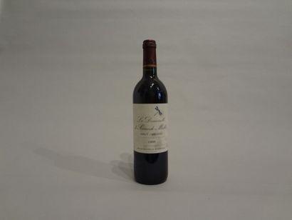 8 Bouteilles - La Demoiselle de Sociando Mallet, 1998, 2d vin Sociando Mallet, Haut-Médoc...