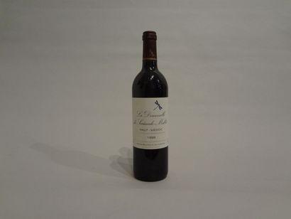 10 Bouteilles - La Demoiselle de Sociando Mallet, 1999, 2d vin Sociando Mallet,...