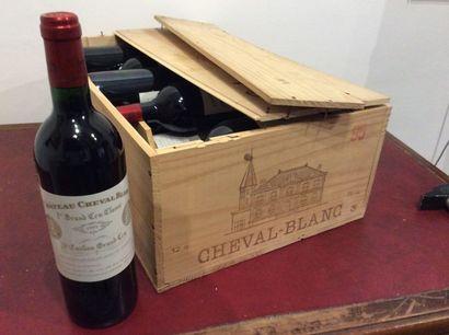 12 Bouteille - Château Cheval Blanc, 1995,...