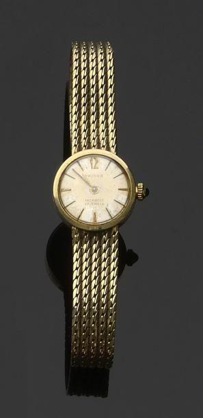 Montre-bracelet de dame, en or jaune 585...