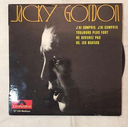 CHANSON FRANCAISE Lot de 17 disques 45 T EP de chanteurs et groupes Jerk, Garage,...