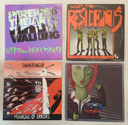 NEW WAVE Lot de 19 disques 33 T de New Wave sur le label Ralph Records. VG à EX /...