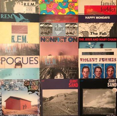 NEW WAVE Lot de 54 disques 33 T de New Wave et musique Indépendante des années 80,...