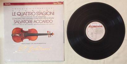 MUSIQUE CLASSIQUE 1 disque 33 T de Salvatore Accardo comprenant : Salvatore Accardo...