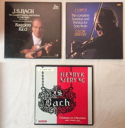 MUSIQUE CLASSIQUE Lot de 3 coffrets de musique Classique Violonistes comprenant :...
