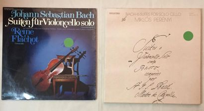 MUSIQUE CLASSIQUE Lot de 1 disque 33 T et 1 coffret de musique Classique Violoncelliste...
