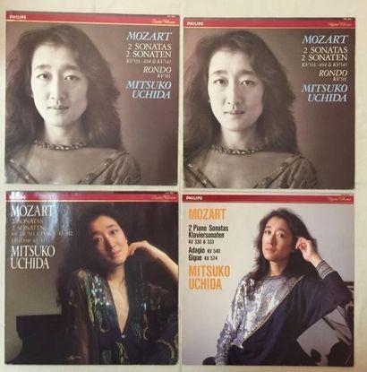 MUSIQUE CLASSIQUE Lot de 41 disques 33 T et de 2 coffrets de musique Classique Pianistes....