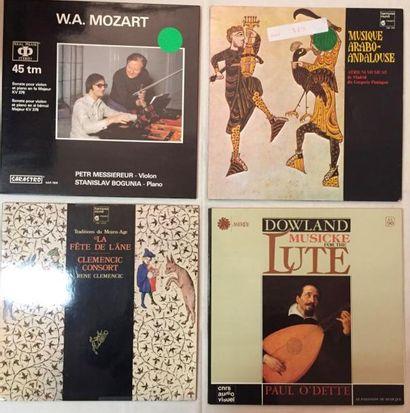 MUSIQUE CLASSIQUE Lot de 26 disques 33 T et de 2 coffrets Audiophiles de musique...