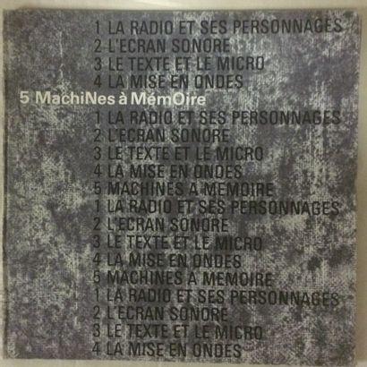 MUSIQUES EXPERIMENTALES Lot de 5 double LP et 1 coffret de Pierre Schaeffer. VG-...