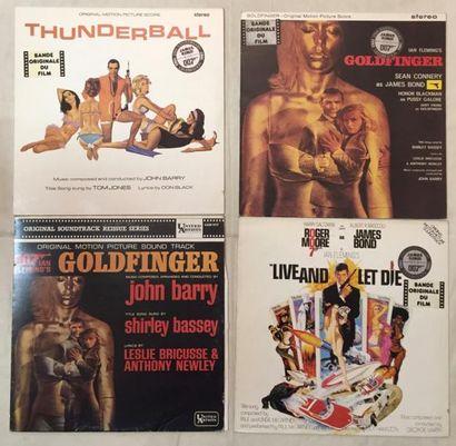 BANDES ORIGINALES DE FILMS Lot de 13 disques 33 T et de 4 disques 45 T / disques...