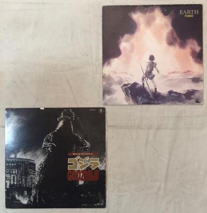 BANDES ORIGINALES DE FILMS Lot de 6 disques 33 T de mangas Japonais comprenant :...