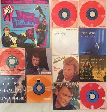 CHANSON FRANCAISE Lot de 5 disques 33 T , de 15 disques 45 T et 5 de disques 33...