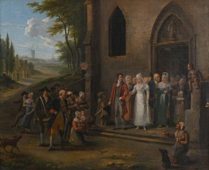 Ecole flamande, vers 1810/1820