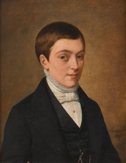 Attribué à Jacques LEMAN (1829-1889)