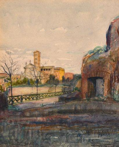 Attribué à Louis MONTAGNE (1879-1960)
