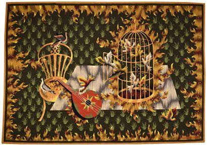 Jean PICART LE DOUX (1902-1982)  Les oiseaux...