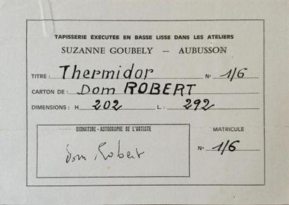 Guy de Chaunac Lanzac dit Dom Robert ou Frère Robert (1907-1997) Thermidor An I...